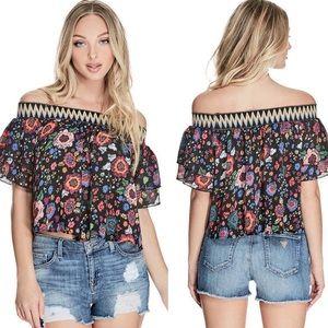 GUESS Rhett Floral Top